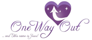 One Way Out logo.